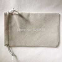 200pcs/lot Size 10*16CM Long Villus Softer Velvet  jewelry gift wedding bags Mobile power bank Drawstring pouch bag