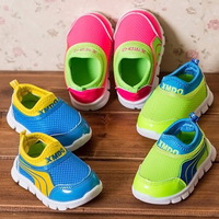 Unisex Fashion Sneakers Infant Toddler Shoes,Breathable Slip-On Mesh Kids Shoes for Baby Boys First Walker Baby Shoe