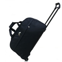 Fashion bag bar rod bags carry on baggage boarding bag waterproof capacity of men and women