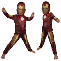 Hot Iron Man cosplay costume for children