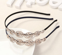 Fashion Women Jewelry Headbands For Girl Bling Hair Accessories Headwear AX0048