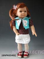18 inches American doll  just like princess handmade vinyl toy Reborn baby dolls
