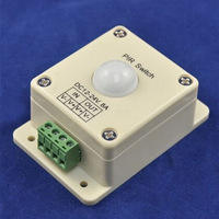DC12-24V 8A Human Body Induction Switch,led infrared detection sensor switch controller, PIR Switch YSL-FIR Free shipping