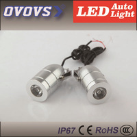 2PCS 12v 5w CREE Q5 Leds Headlight with High Power for Motor,Bike