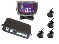Free Shipping PZ501 LCD Digital Car Parking Sensor Backup Reverse Radar Alert System with 4 Sensors LCD digital display