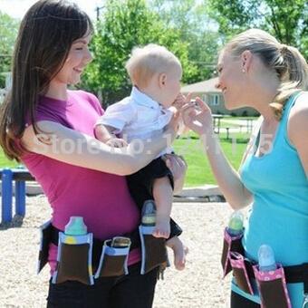Fashion Multifunctional Designer Baby Mother Bag Mummy Bag Belt Pockets Convenient Adjustable Length(China (Mainland))