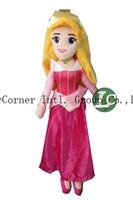 5pcs Princesses Princess Dolls Plush Toys Sleeping Beauty for Aurora Stuffed 60cm for Children Girls