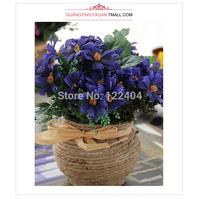 Aesthetic rustic decoration flower artificial flower aesthetic small chrysanthemum small bonsai princess