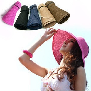 [해외]1pc Fashion Women Hat Millinery Summer Sun Hat Vis..