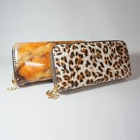 Good Quality New 2014 Women Wallets Womans Change Purse Female Brand Coin Clutch Lady Carteira Feminina Leopard Clutch Phone Bag