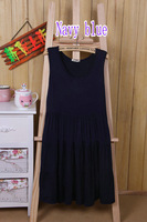 Korean version of New 2014 Summer Sleeveless Dress I Fashion Modal New Korean Of Casual Female Candy Colored Sleeveless Dress