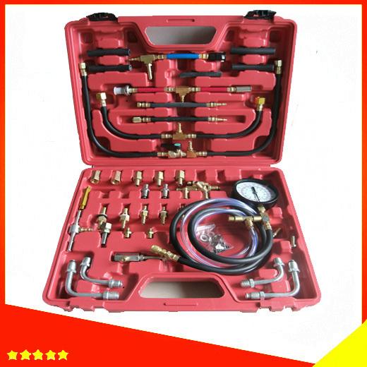 TU443 Fuel Pressure Tester Kit Master Fuel Injection Pressure Test Kit TU-443 TU443 manometer(China (Mainland))