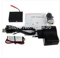 RF-V9 Black, GSM /GPRS GPS Real-time Tracker Vehicle Alarm with SOS/AGPS/Vibration Sensor Alarm/Voice Sensor Alarm Function