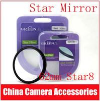 Green.L 62mm Star 8 Point 8PT Filter for 62mm LENS