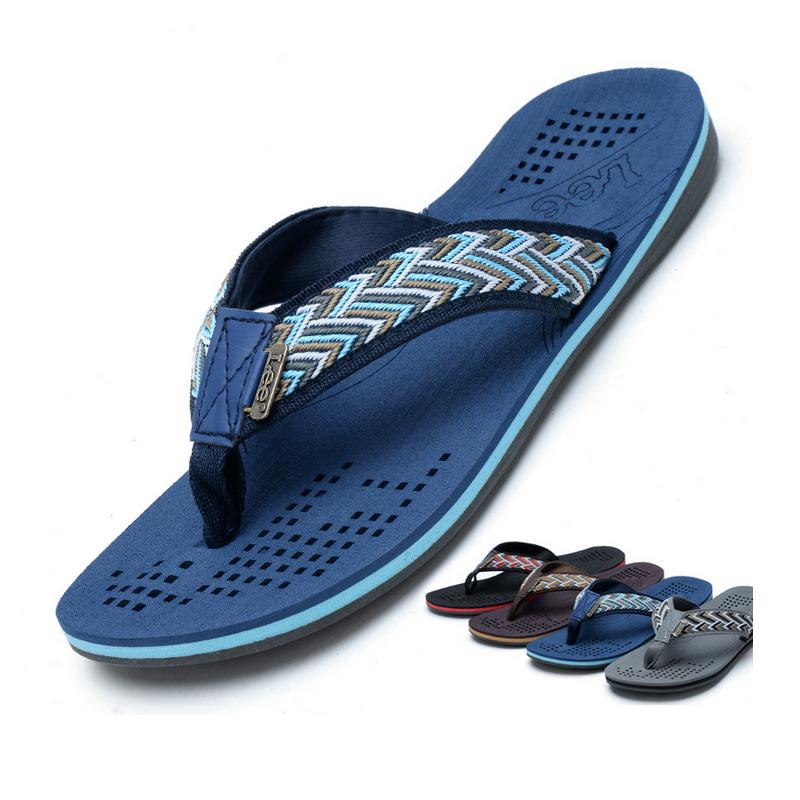 sandálias novas de famosa marca casual homem 2014 praia de sapatos de ver�