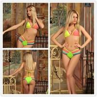 2014 Free Shipping Sexy Hot Summer Bandage H L Bikini Monokini Beachwear Swimwear Swimsuit Women Lady BodyCon DS940