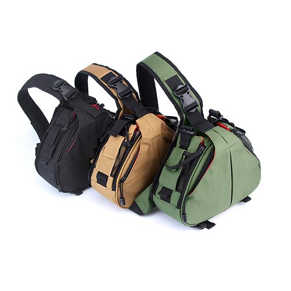 Buy Stylish DSLR Sling Camera Bag Backpack Case For Outdoor Travel ...