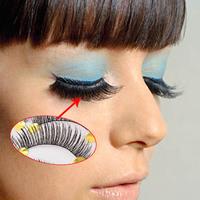 10 Pair False Eyelashes Fashion Long Thick Curl Fake Eye Lashes Handmade Makeup