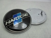 HARTGE logo Car badge Front Emblem front logo Car logos 82mm  with retail box (please remark if you need rear logo 73mm )