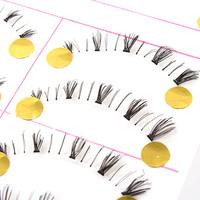 10Pairs False EyeLash Eyelashes Eye Lashes Makeup New Free Drop Shipping