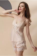 Faux Silk Pajamas Sets