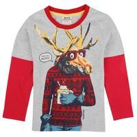 2014 Newness Hot Designer Nova Kids Casual Baby Boys Children Clothing Cotton Spring Long t Shirt For Children