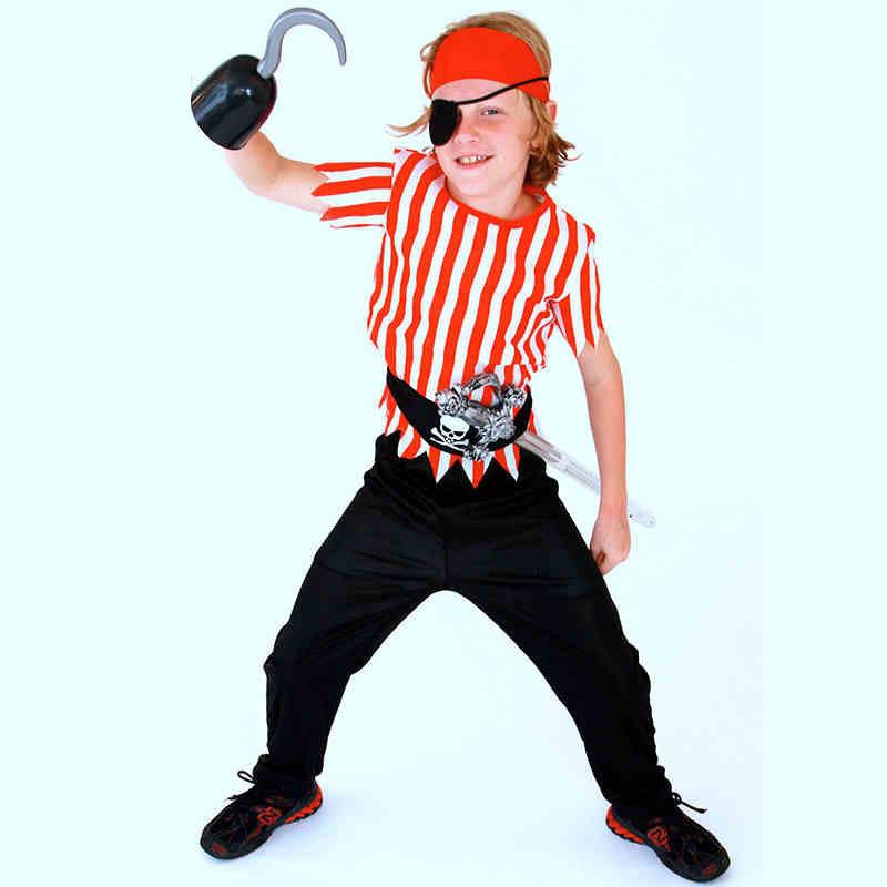 Pirate boy kids costume