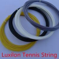 Best seller 5pc/lot Luxilon  tennis string alu power rough 125 with 4 Colors