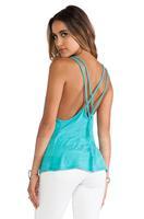 HIGH QUALITY!  blue backless women's tank girl fashion tops XS-XXL, 141116054