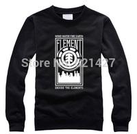 ELEMENT autumn winter skateboard brand wind  men sportswear pullover sweater