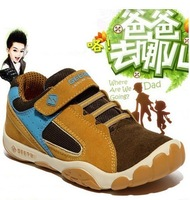 Spring and autumn children shoes boys shoes child sport shoes genuine leather casual shoes