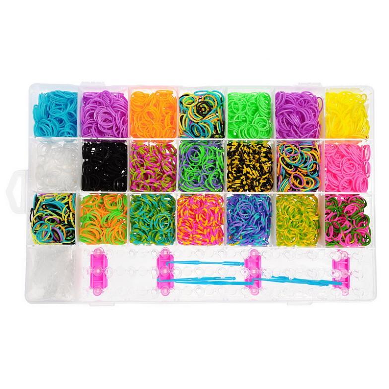 Tie Dye Loom Bracelet Rubber Bands Tie Dye Loom