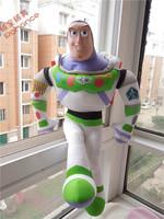 Freeshipping The toys story plush toys buzz lightyear doll big size 55cm buzz lightyear soft stuffed toy kids gift