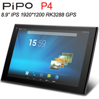 "New PiPo P4 Rk3288 Tablet PC Quad Core 2GB RAM 16GB 8.9"" IPS 1920x1200 Camera 8.0MP GPS HDMI"