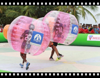 free shipping  funny  100%PVC  1.0mm 1.5m inflatable bumper ball bubble  ball,bubble football,Inflatable body bumper ball