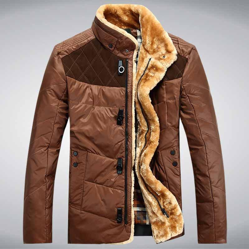 Neuen herren daunenjacke mit kapuze 90% entendaunen wintermantel outwear winter mantel versandkostenfrei Groß-und Einzelhandel d50