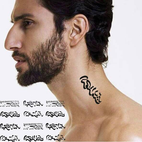 Временная татуировка Fashion tattoo stickers DIY tatoo HSC147 ophir 2017 new pro tattoo kit 2 tatoo gun machine with grip needles 12x10ml ink 346pcs ta069