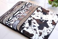 1set=2pcs 40*60cm&50*80cm dustproof parlor mat anti-slip toilet mat in the bathroom boudoir carpet free shipping