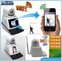 P2P 1.0 Megapixel HD IR CUT 6MM Lens Waterproof 720P Outdoor IP Camera Wifi P2P mobile call Wireless IP Camera