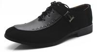 2014 new arrive men's fashion Oxfords shoes leather shoes business or wedding Flats shoes for men office career shoes LBX18