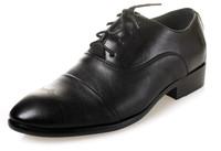 2014 new arrive men's fashion Oxfords shoes leather shoes business casual Flats shoes for men office career black shoes LBX27
