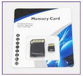 Cheap 100% real 8gb/16gb/32gb  Micro SD Card Class 10 No Name Brand TF Memory Card  With SD Adapter Blister Retail Package