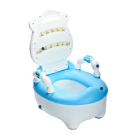 Large cow baby toilet plus size drawer baby sit implement plastic pinico