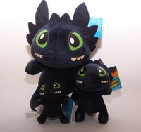 35cm Big Size Season 2 How to Train Your Dragon Night Fury Plush Stuffed Dragon Stuffed Animals & Plush Kids Toys