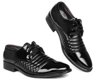 2014 new arrive men's fashion Oxfords shoes leather shoes business wedding Flats shoes for men office career black shoes LBX34
