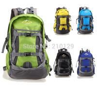 New 35L outdoor climbing bag waterproof shoulder bag Camping hiking bag sport bag women and men backpack free shipping