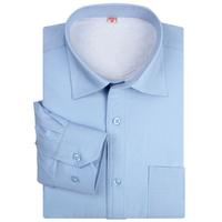 Autumn and winter men shirt boutique men's warm plus thick velvet business casual shirt men's plus velvet shirts 20 color
