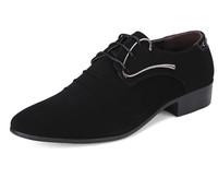2014 new arrive men's fashion Oxfords shoes nubuck leather shoes business wedding Flats shoes for men office career shoes LBX36