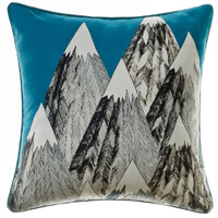 "18""x18"" geometric print cushion case home decorative pillow cover."