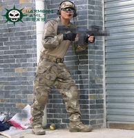 Military Tactical Combat Suit and Pants With Kneepads ATACS